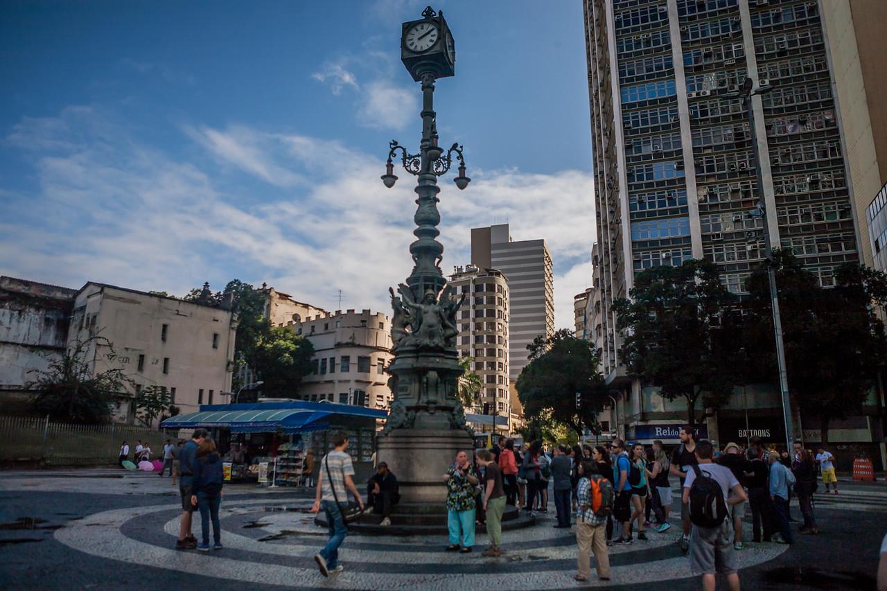 Carioca Square, Rio de Janeiro, Brazil
