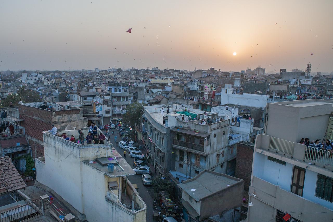 Kite Festival, Ahemdabad, India