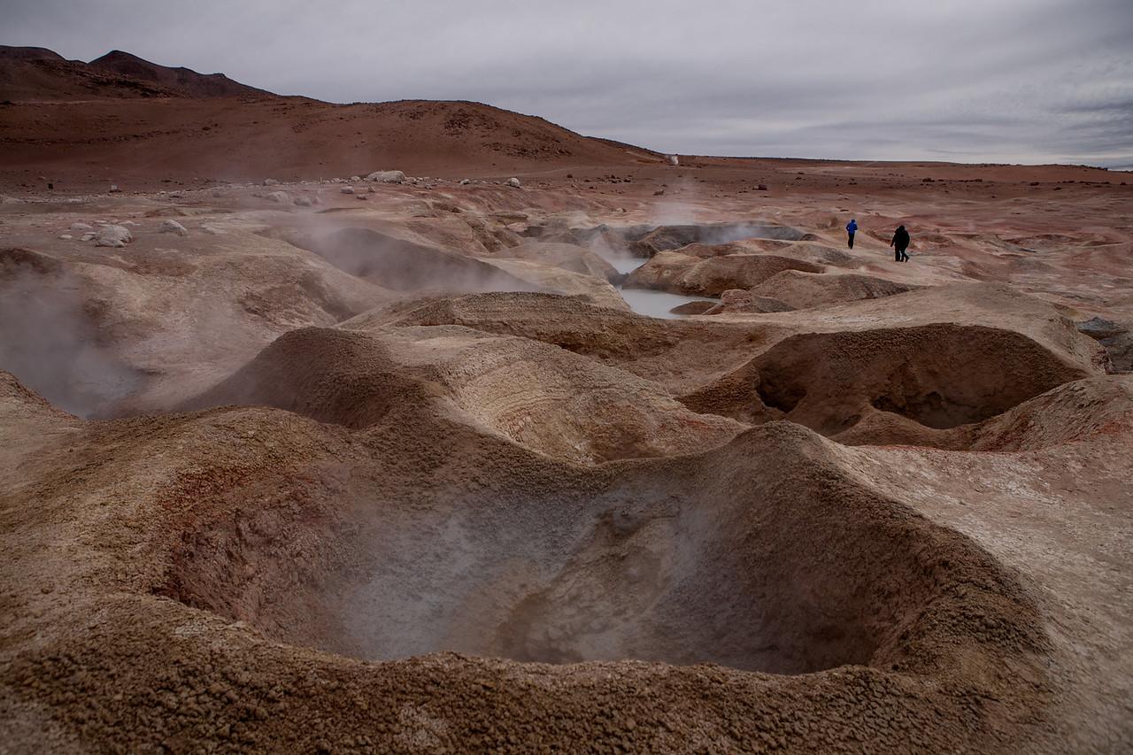 Sol de Mañana Geysers, Bolivia