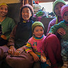 Family from Anmu village en route Phuktal monastery, Zanskar, India