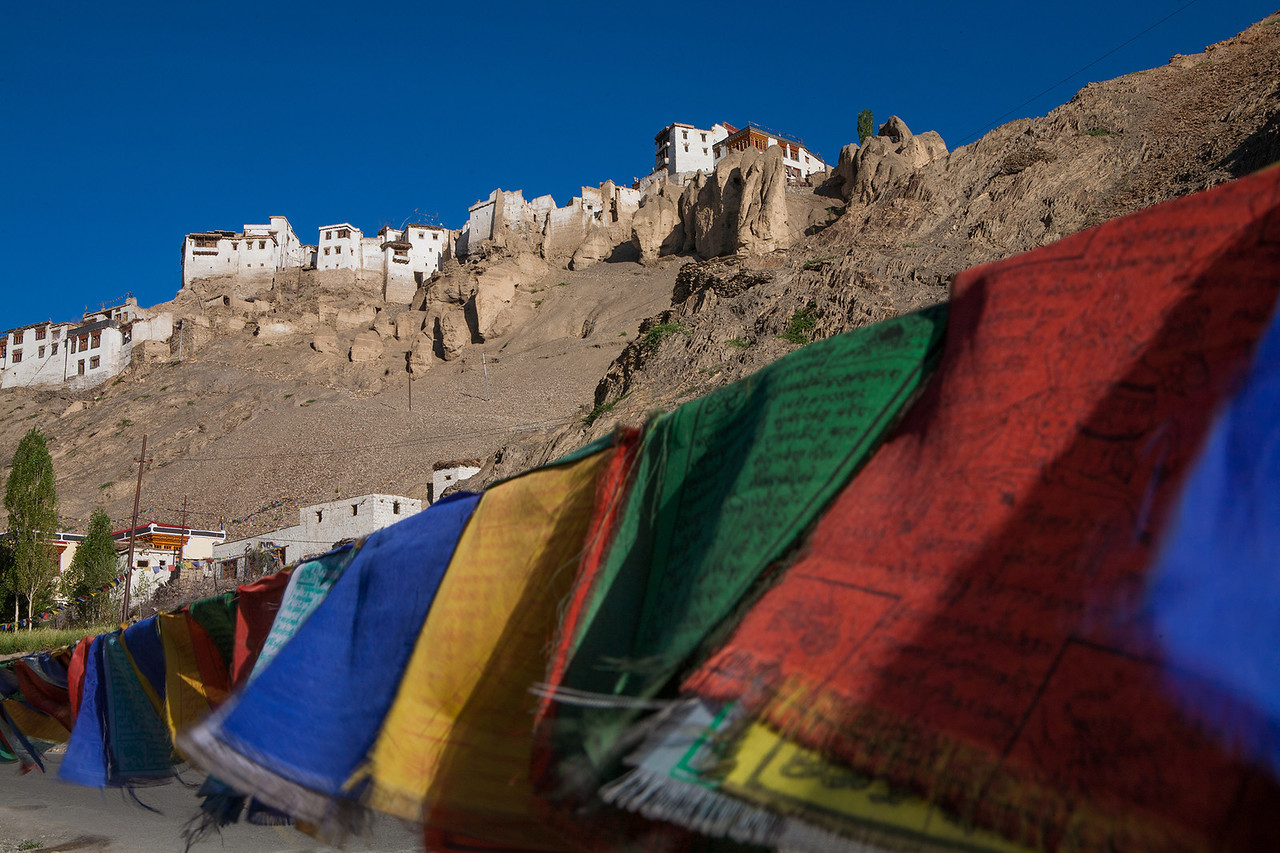 Prayer Flags at Lamayuru, Ladakh, India