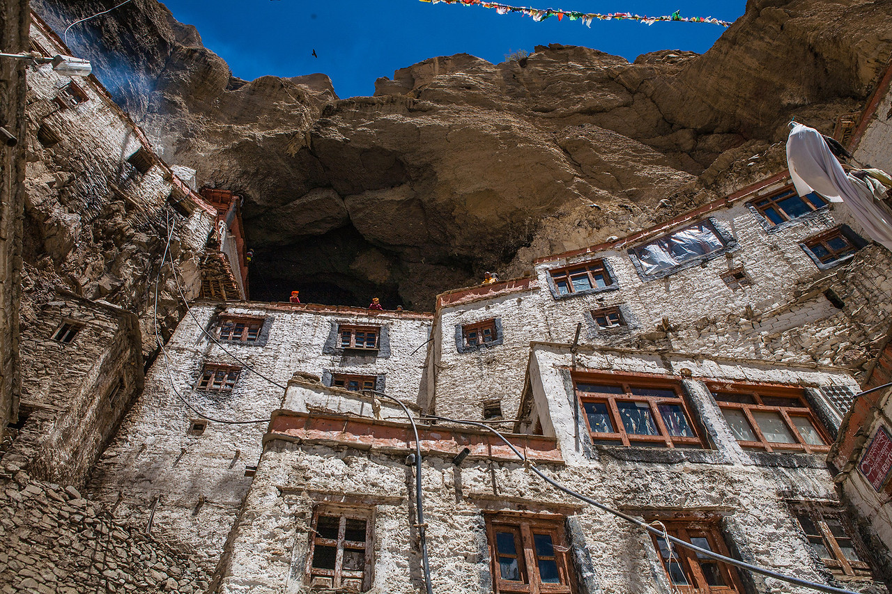 Phuktal monastery, the most remote monastery in Zanskar
