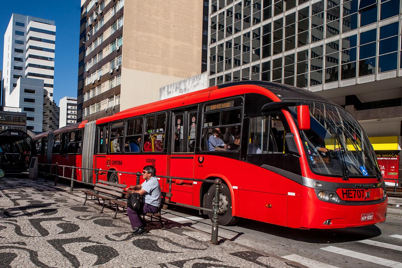 Public transport in Curitiba, Brazil