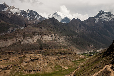 Along the Suru river in Suru valley near Kargil, India