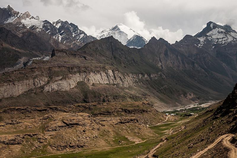 Along the Suru river in Suru valley near Kargil, India
