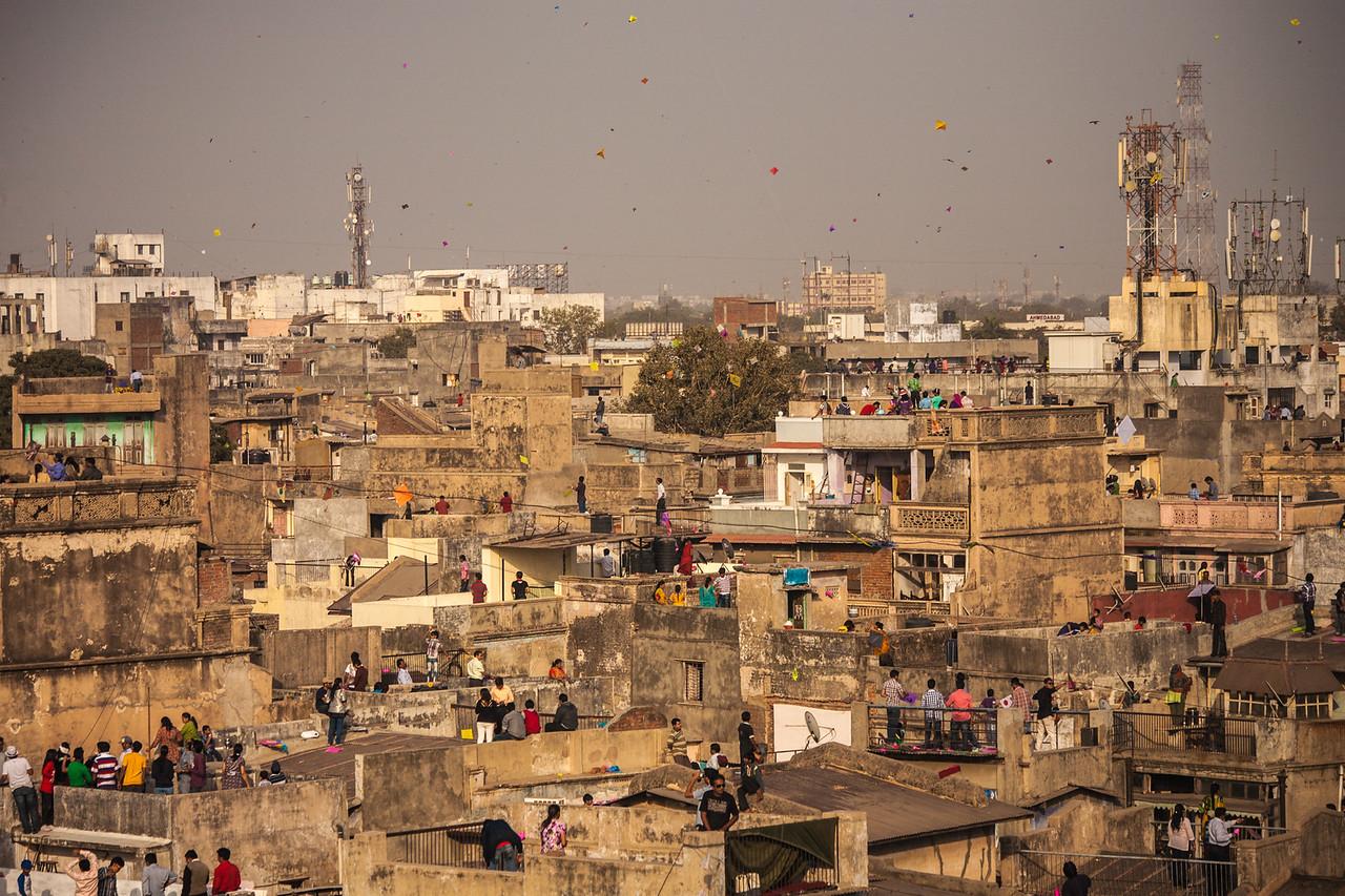 Kite Festival, Ahmedabad, India