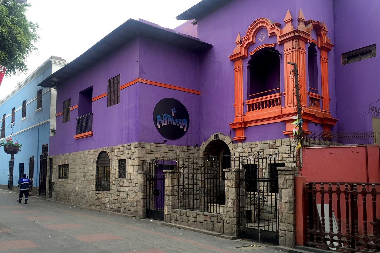 Barranco neighbourhood of Lima, Peru