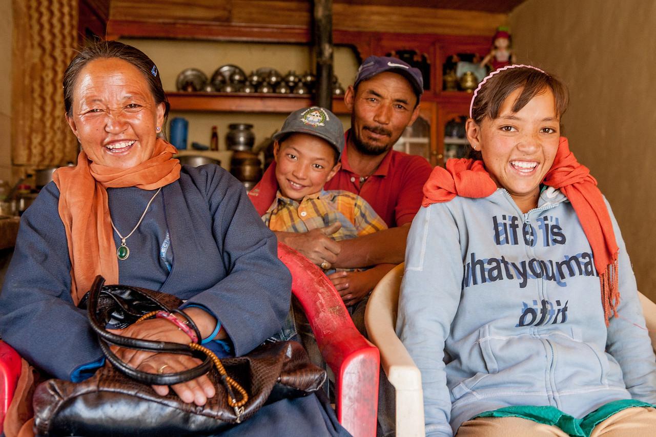 Lamayuru homestay, Ladakh, India