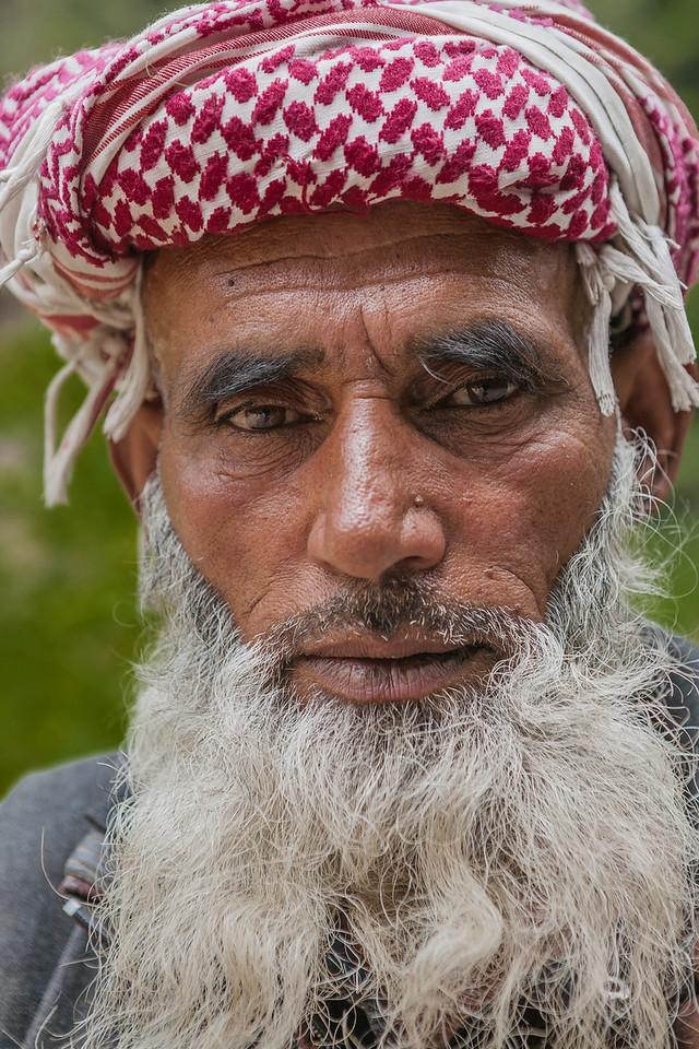 Gujjar man at Daksum, Kashmir, India