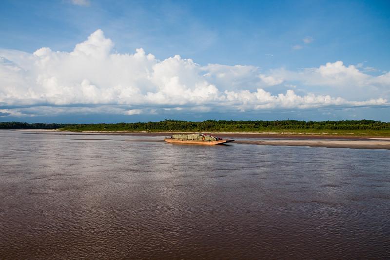 Amazon river and the Amazon rain forest, Peru