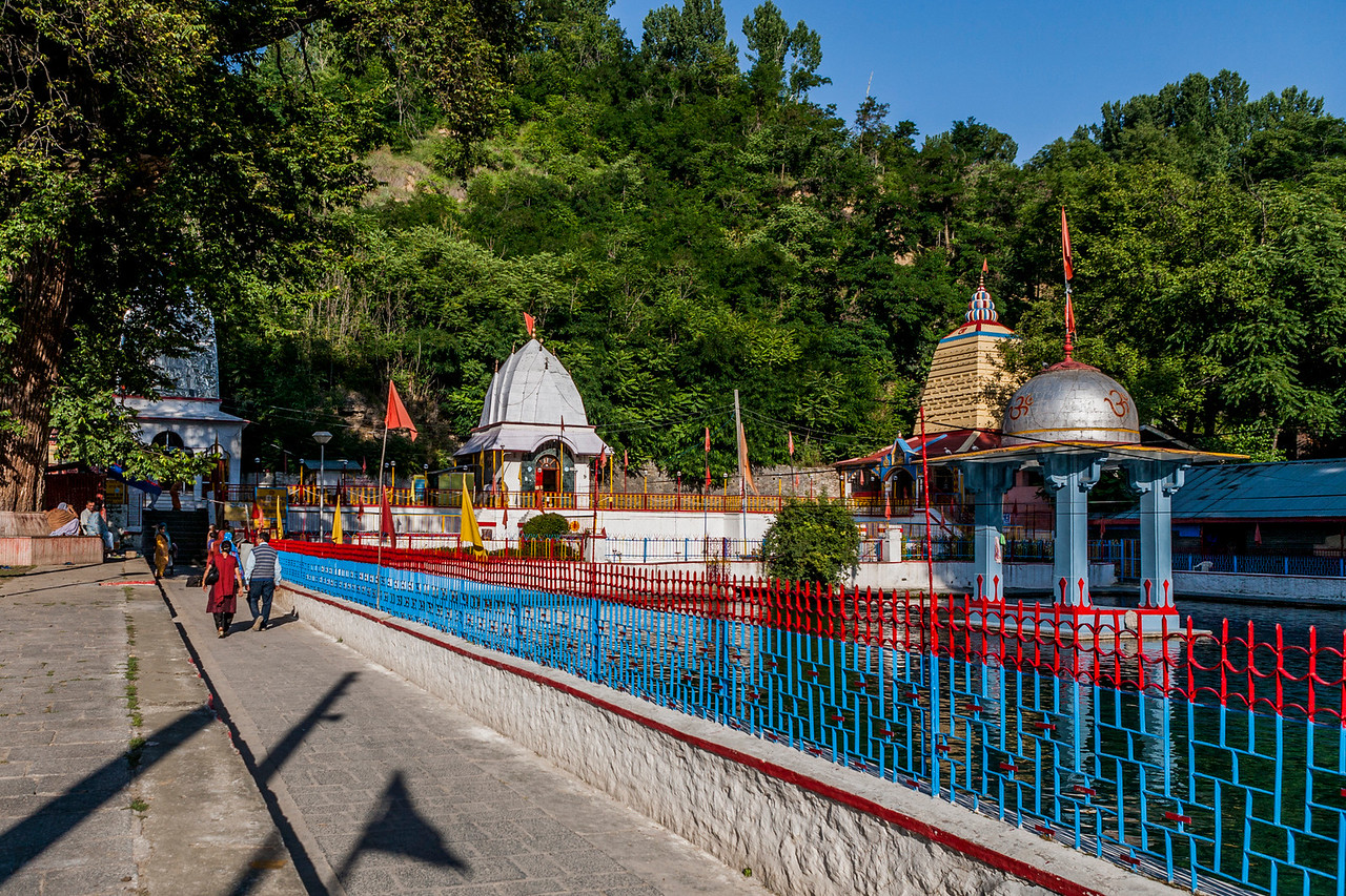 A temple at Mattan in South Kashmir
