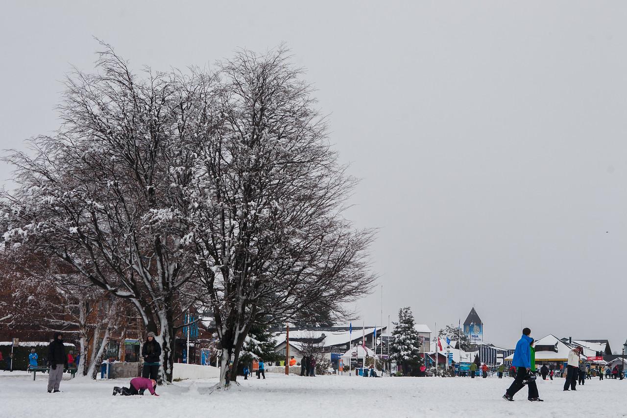 Enjoying the snow at Cerro Chico, Bariloche, Argentina