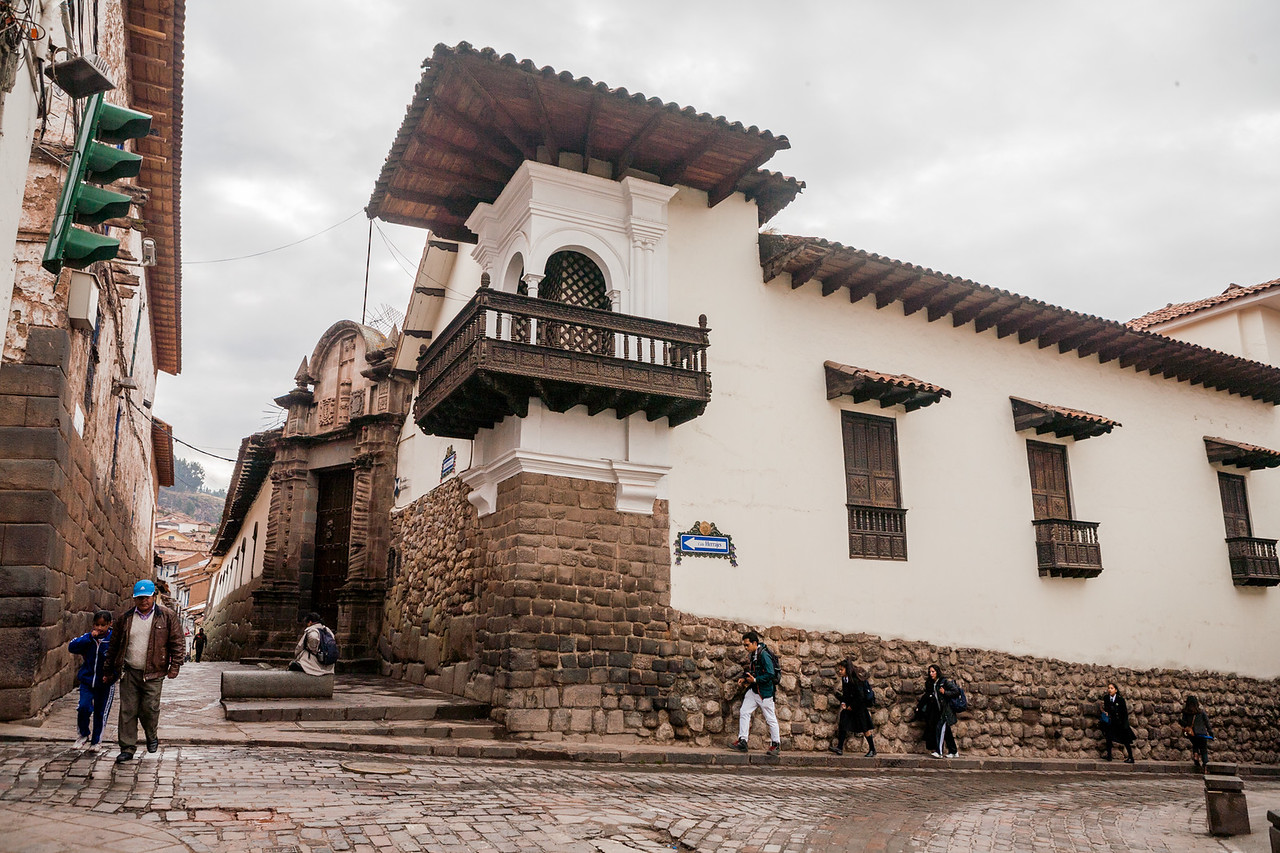 Heritage city Cusco, Peru