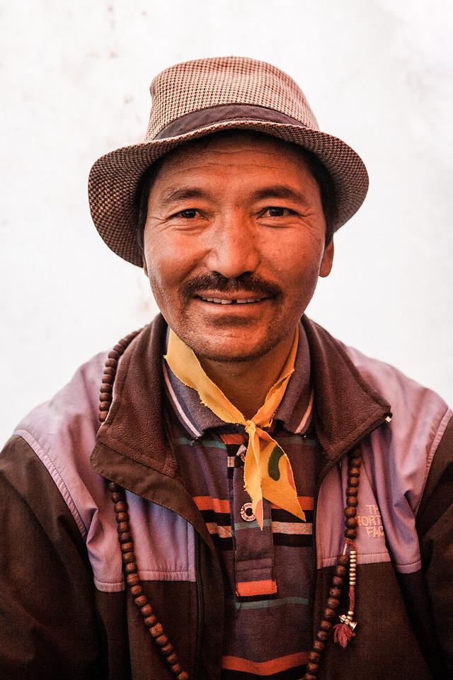 Man from Sani village in Zanskar, India