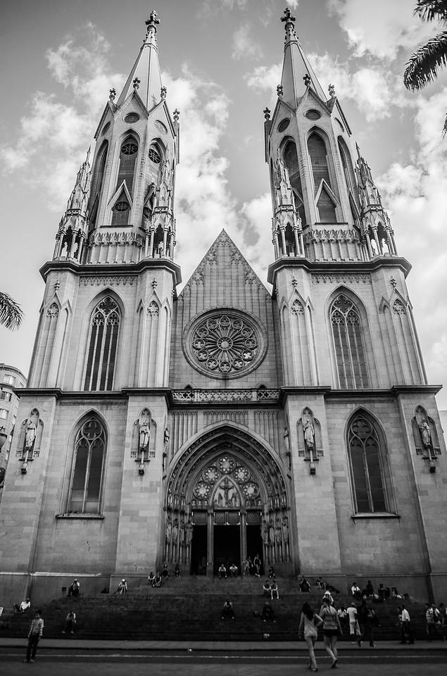 São Paulo Cathedral, Sao Paulo, Brazil