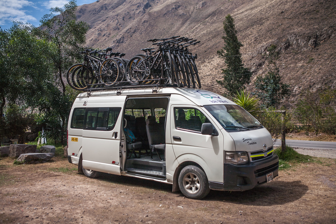Cycles ready to hit the road, Peru