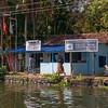 Telephone exchange of Alleppey backwaters, Kerala, India