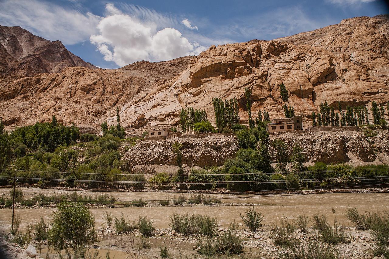 Summer landscapes of Ladakh, India