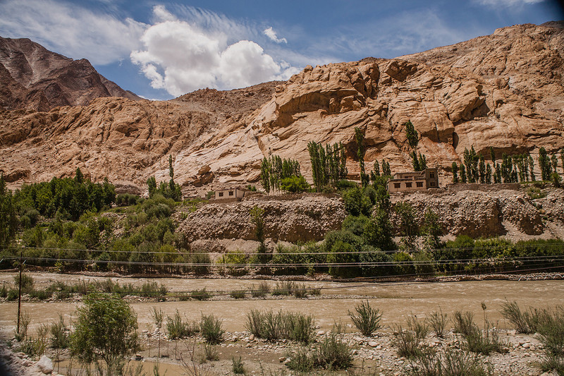 Summer landscapes of Ladakh, India