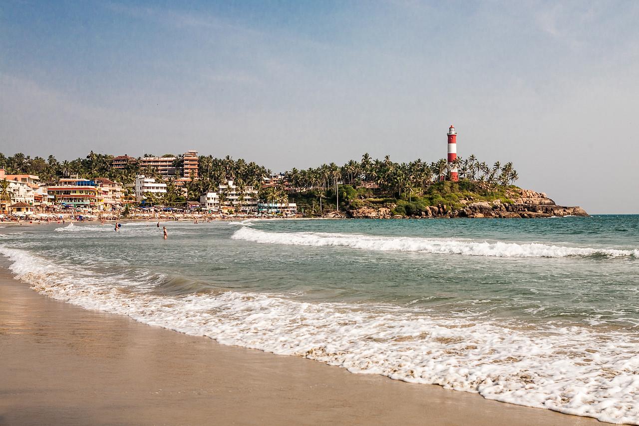 Light House beach, Kovalam,  India