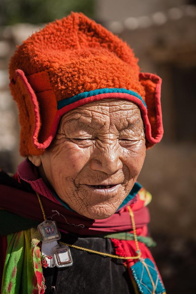 Happy faces at Sani, Zanskar, India