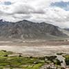 Panorama of the view from Karsha monastery