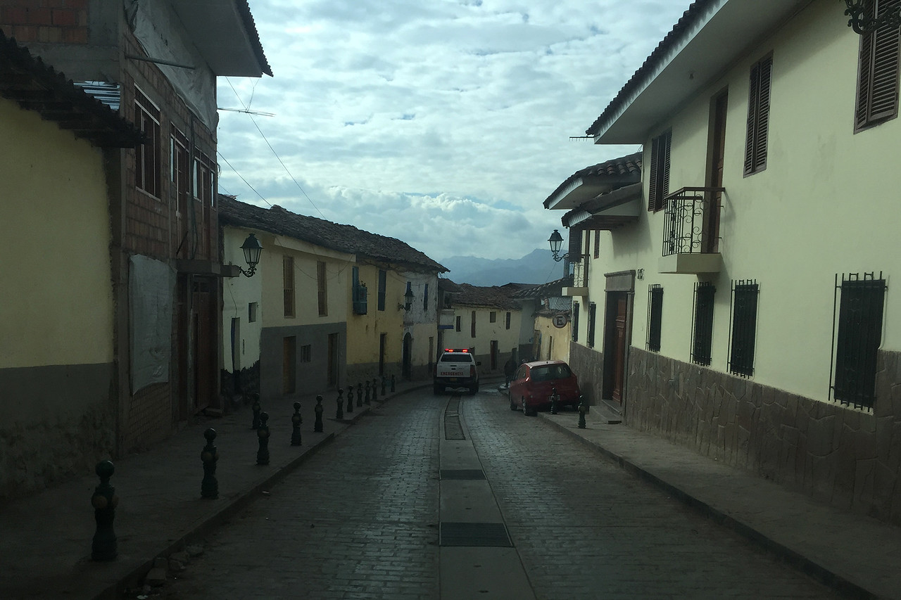 Getting out of Cusco on the way to Machu Picchu