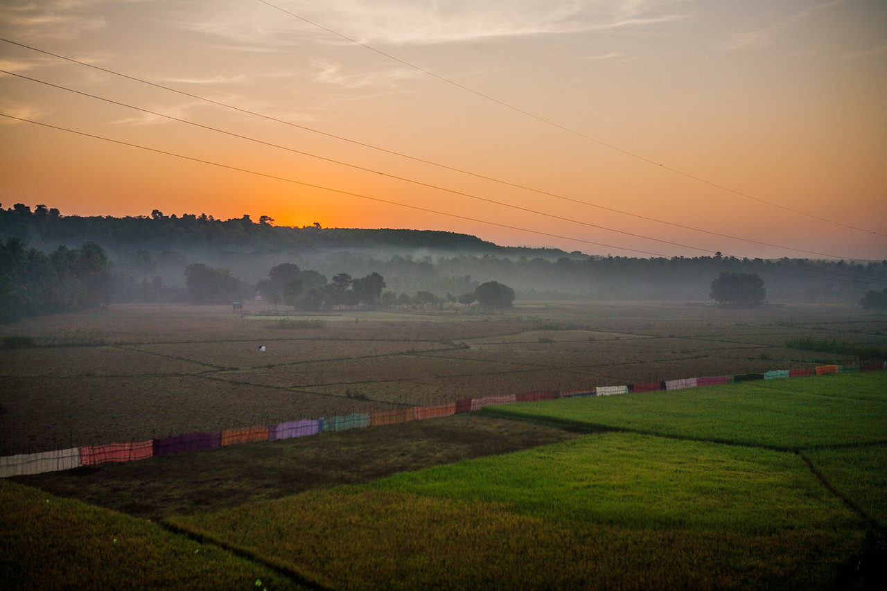 Konkan Railway train ride in Maharashtra