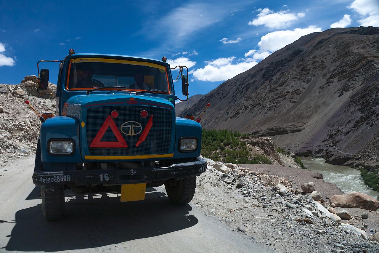 Blue Monster Enroute Tso Moriri, Ladakh, India