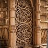 Artwork at Jami Masjid in Champaner, Gujarat, India
