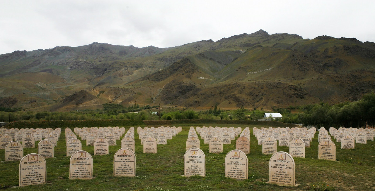 Kargil War Memorial, Dras, India