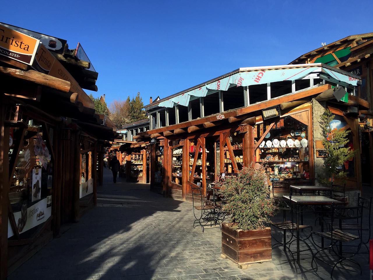 Market at El Calafate, Patagonia, Argentina
