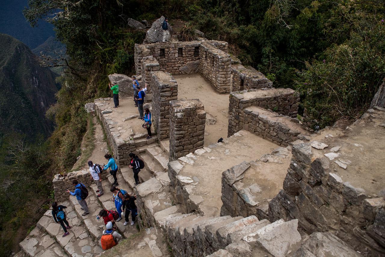 The Sun Gate of Machu Picchu