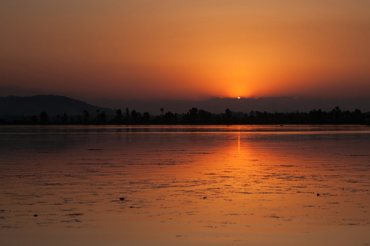 Dal lake, Srinagar, Jammu & Kashmir, India