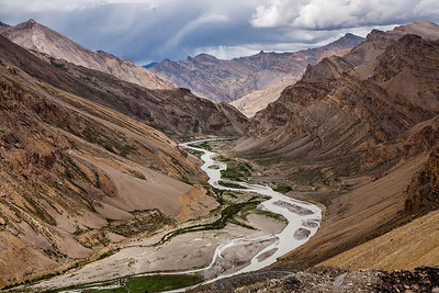 "By the time we reached Nakee la, our third pass, we had come to terms with our ""heart in mouth"" condition. Every glimpse of the Indus river flowing below brought with it a green oasis. Read full story of the 470 km Leh Manali journey at The Leh Manali route – an epic journey"