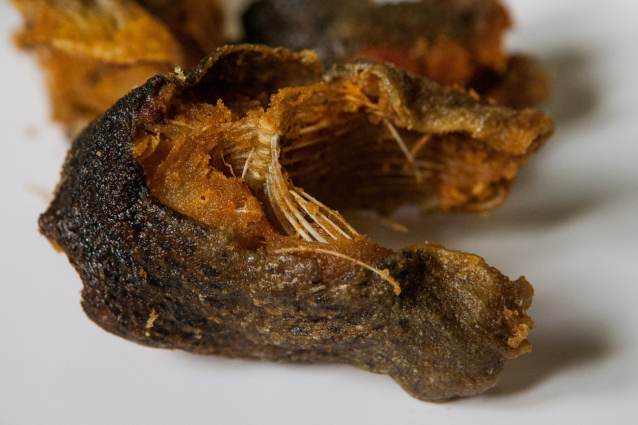Fried Trout fish, a delicacy of Kashmir, India