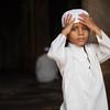 Prayers at Jami Masjid in Champaner, Gujarat, India