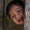 Children in a Amazon village in Peru