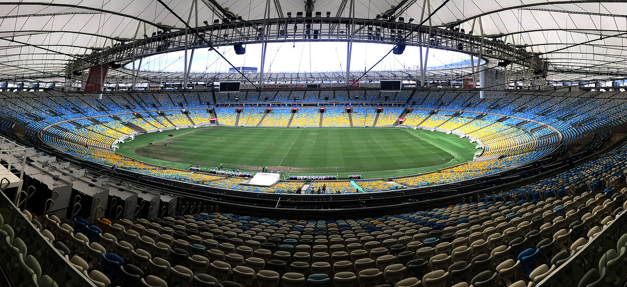 The Maracana stadium, Rio de Janeiro, Brazil