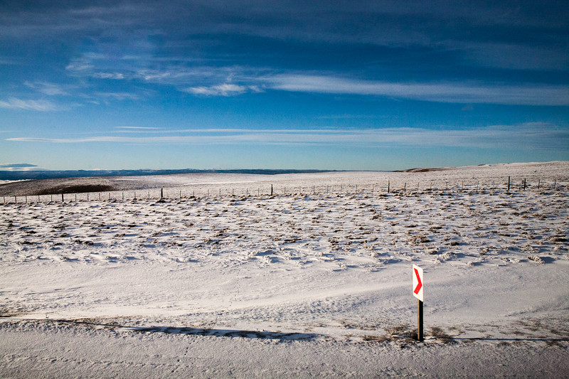 Journey from El Calafate to Rio Gallegos, Argentina