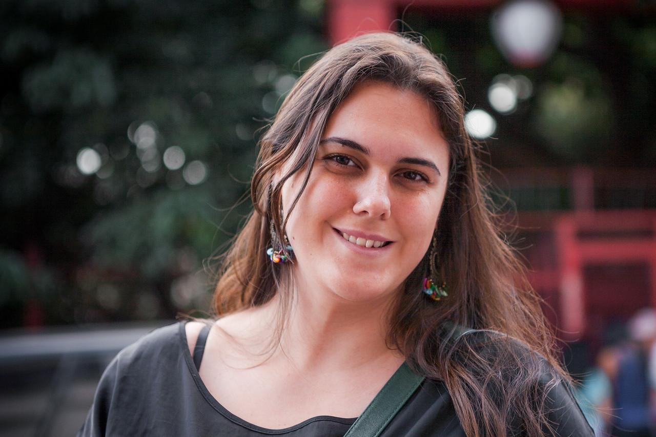 A girl from Sao Paulo, Brazil