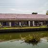 School at Alleppey backwaters, Kerala, India