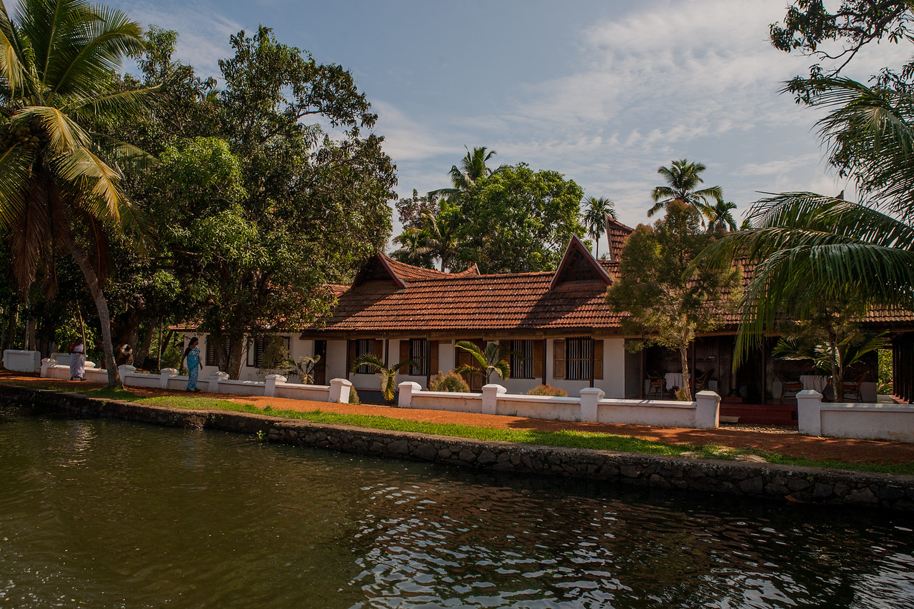 Alleppey backwaters, Kerala, India
