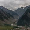 View from Zoji la, Kashmir, India
