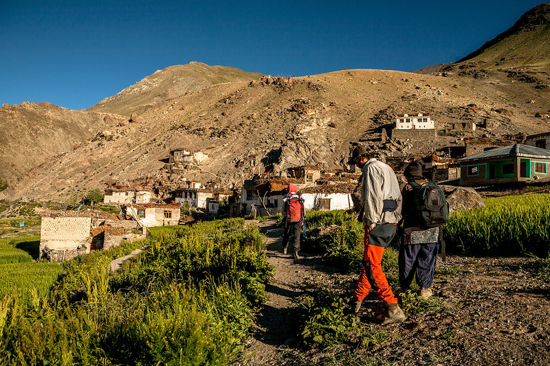 Leaving Cha village for Phuktal monastery