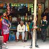 A shop in Sankoo, a village in Suru valley near Kargil, India