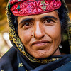 A Gujjar woman from Chatpal, Kashmir, India