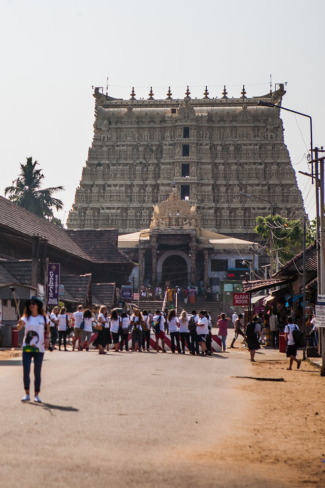 Padmanabhaswamy temple, Trivandrum, Kerala, India