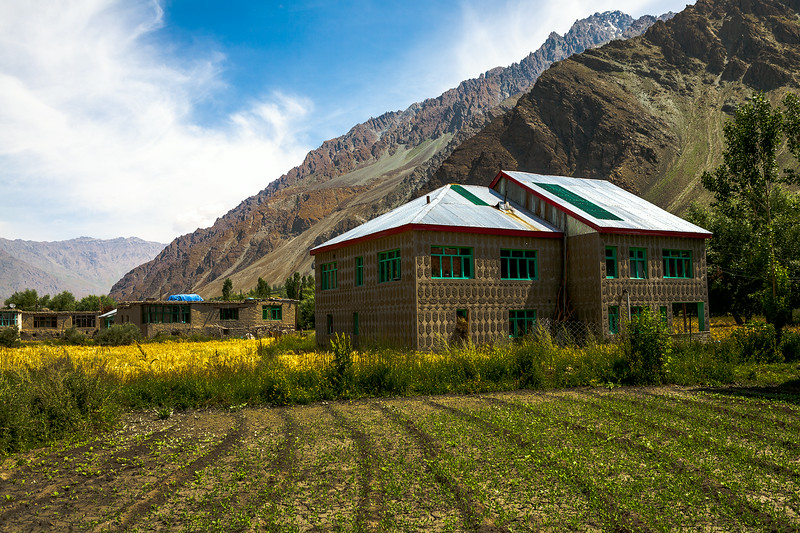 A posh house in Sankoo village of Suru valley near Kargil, India