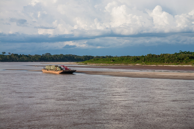 Amazon river and the Amazon rain forest, Peru